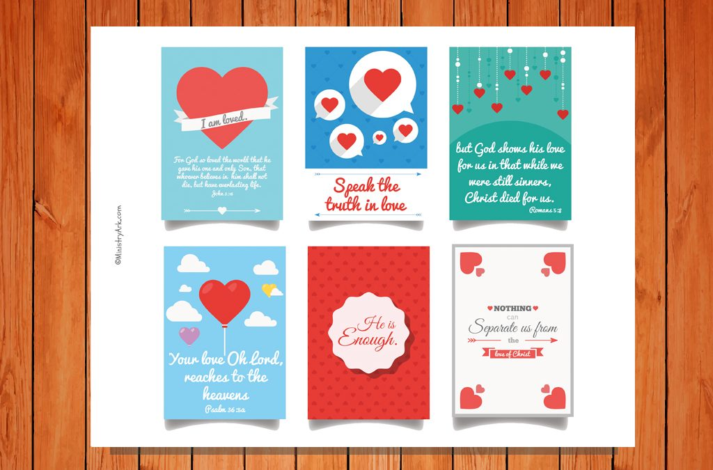 graphic regarding Printable Love Cards referred to as Mini Enjoy Playing cards Printable MinistryArk