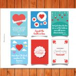 Mini Love Cards Printable