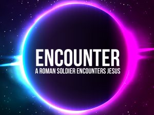 Click here for the 'Roman Soldier Encounters Jesus' Powerpoint image