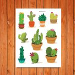 'Cactus Collection' Bible Journaling Printable