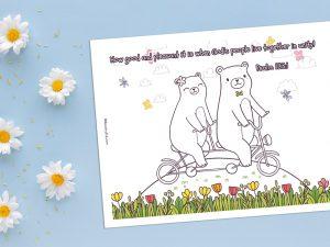 'Good and Pleasant' Printable