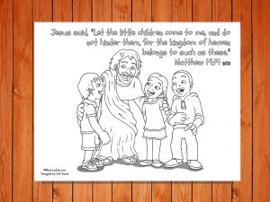 Click here for the 'Let the Children Come' Printable New International version