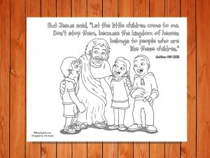 Click here for the 'Let the Children Come' International Childrens Bible version