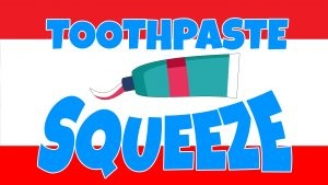 Click here for the widescreen 'Toothpaste Squeeze' Game