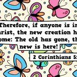 2 Corinthians 5:17 Stills