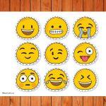 Emoticons Printables