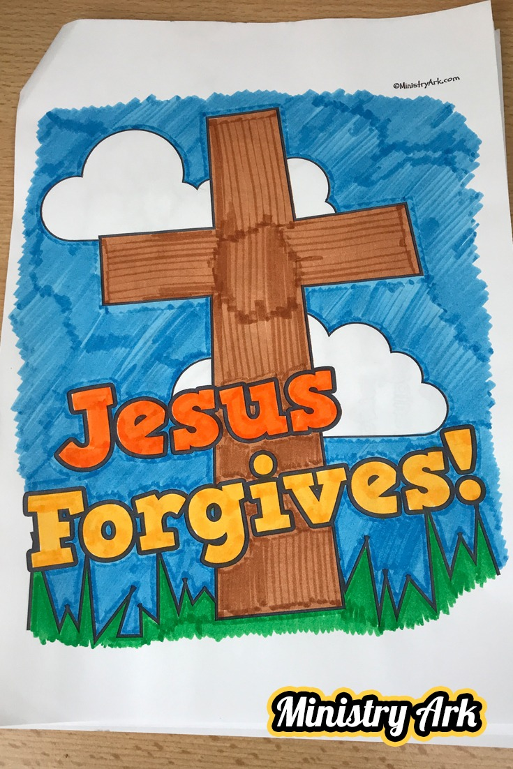 'Jesus Forgives' Printable