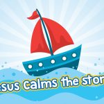 'Jesus Calms the Storm' Childrens Lesson (Mark 4:35-41)