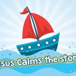 'Jesus Calms the Storm' Childrens Lesson (Mark 4:35-41)
