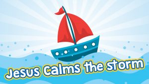 Click here for the 'Jesus Calms the Storm' widescreen Powerpoint image