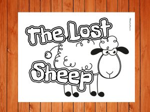 Click here for 'The Lost Sheep' printable