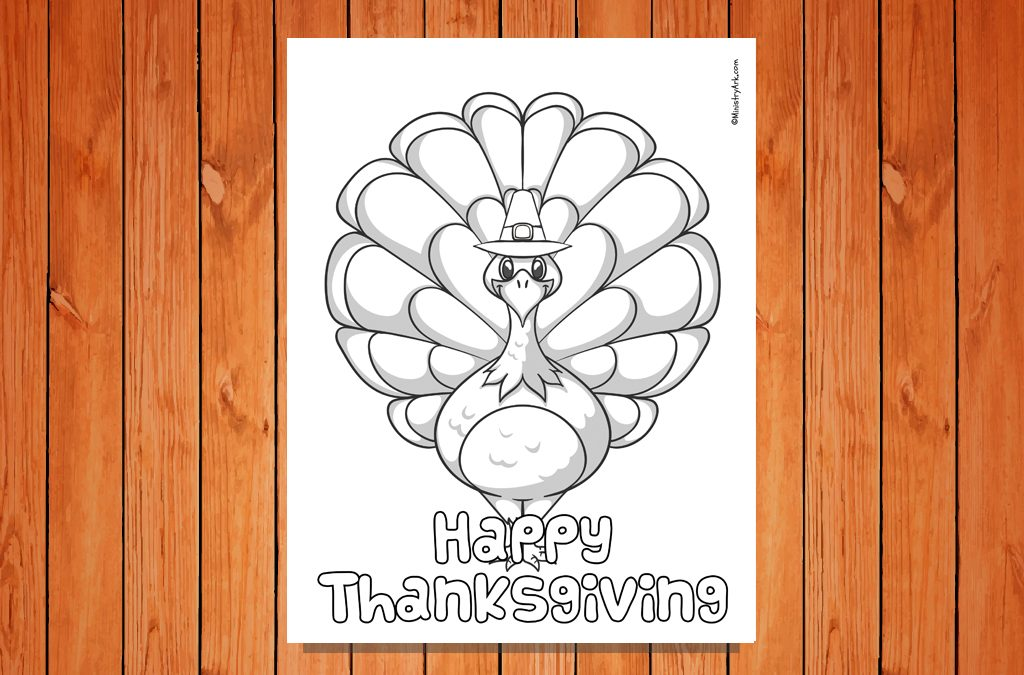 'Happy Thanksgiving' Printable