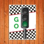 'Go' Traffic Light Printable