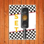 'Set' Traffic Light Printable