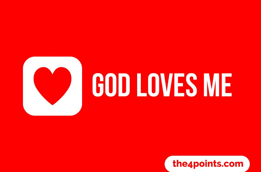'God Loves Me' 4 Points Easter Gospel Childrens Lesson