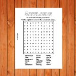 Zacchaeus Wordsearch Printable
