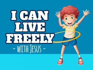 'I Can Live Freely' Childrens Lesson on Paul and Silus (Acts 16:16-40) PowerPoint image