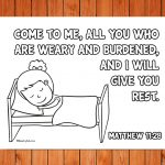 'Come to Me' Printable (Matthew 11:28)
