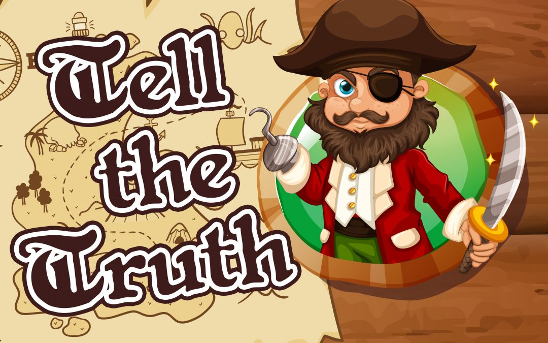 'Tell the Truth' Childrens Lesson on Joseph (Genesis 39)