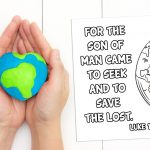 'Seek and Save' Printable (Luke 19:10)