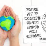 'Seek and Save' Printable (Luke 19:10)
