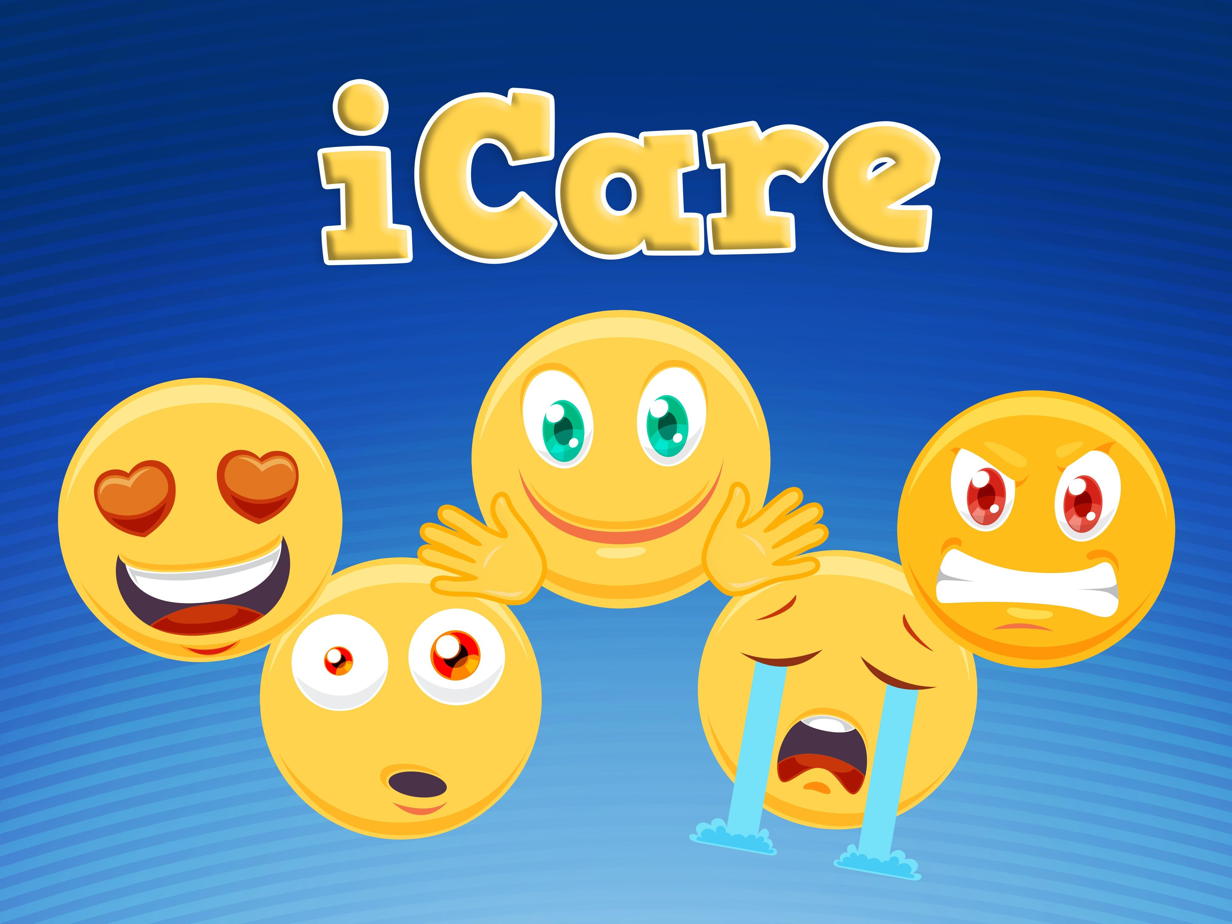 'iCare' Emoji Childrens Teaching Series or VBS