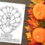 'Happy Thanksgiving' Printable
