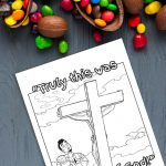 'Truly, This Was The Son of God' Printable (Matthew 27:54)