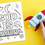 'God is Powerful' Printable