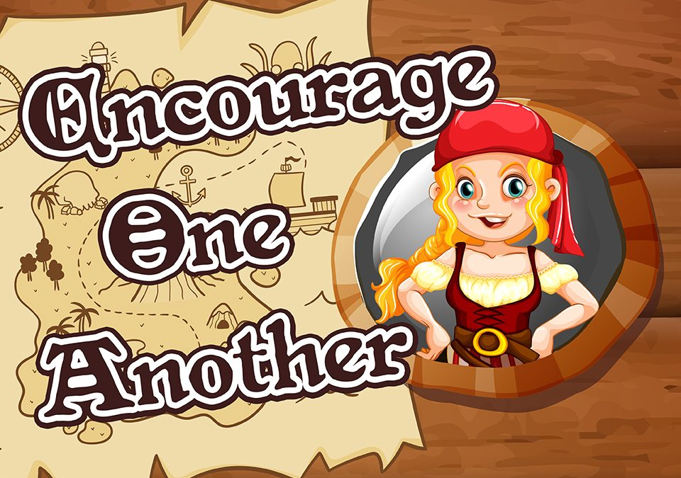 'Encourage One Another' Childrens Lesson on Acts 9:1-19