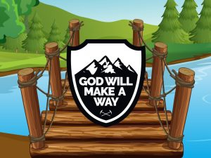 'God Will Make a Way' PowerPoint image for kids