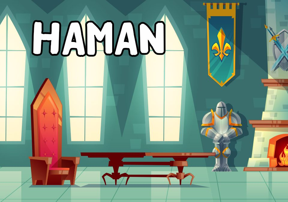 'Haman: The Creepiest Creep' Bible Story Poem