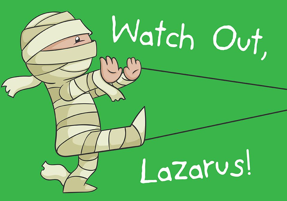 'Watch Out, Lazarus' Group Game