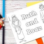 'Ruth and Boaz' Printable