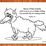 'Wolf in Sheepskin Clothes' Printable