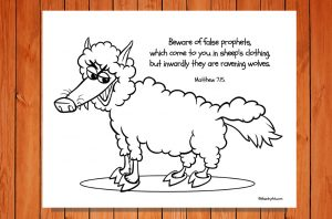 Click here for the free 'Wolf in Sheepskin Clothes' Printable