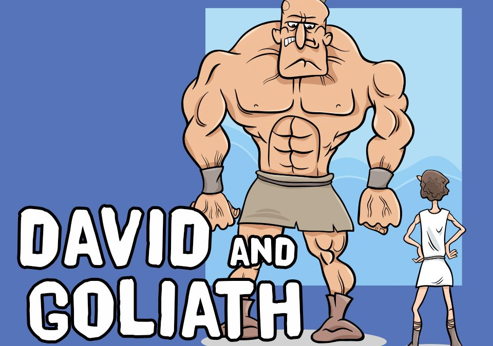 'David and Goliath' Bible Story Poem