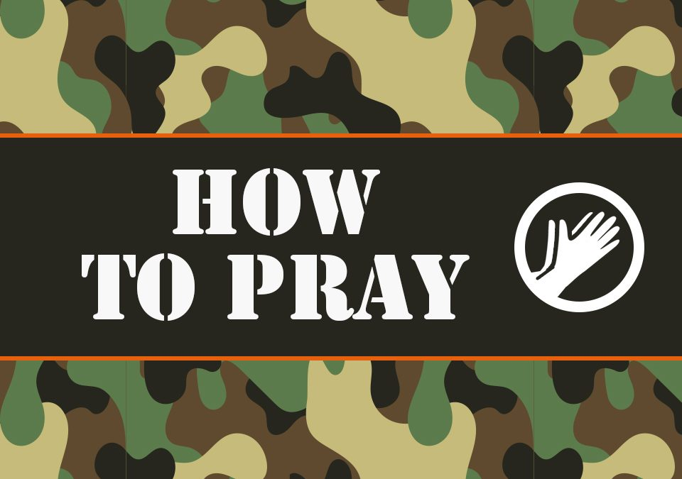 'How to Pray' Childrens Lesson on The Lord's Prayer