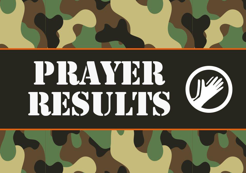 'Prayer Results' Childrens Lesson on Matthew 6:25-34