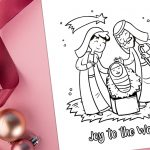 'Joy to the World' Printable