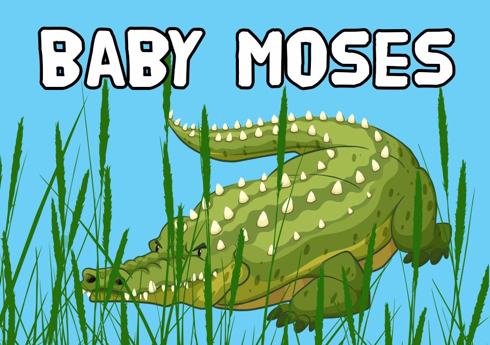 'Baby Moses' Bible Story Poem