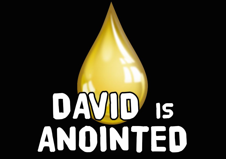 'David is Anointed' Bible Story Poem
