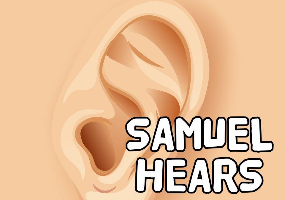 'Samuel Hears' Bible Story Poem
