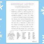 'Christmas Nativity Wordsearch' Printable
