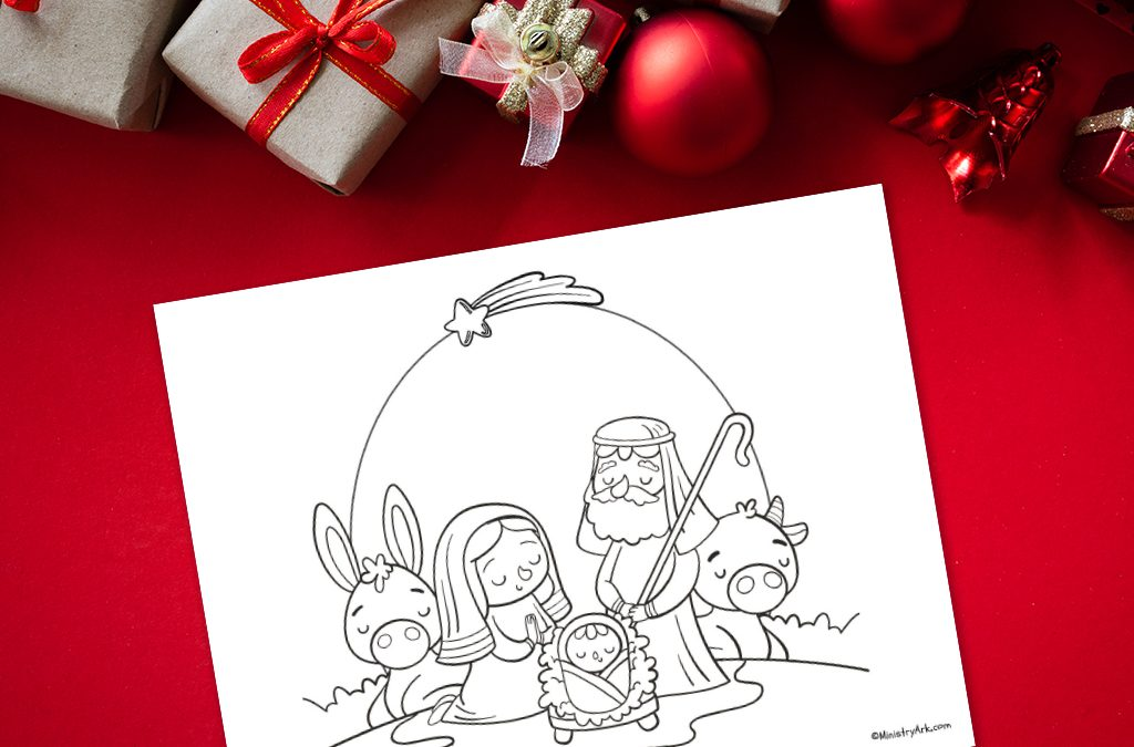 'Peace at Christmas' Printable
