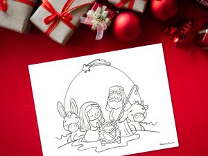 'Peace at Christmas Printable