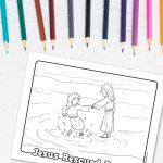 'Jesus Rescued Peter' Printable
