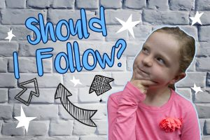 'Should I Follow?' Powerpoint image