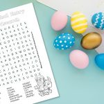 'Triumphal Entry Wordsearch' Printable