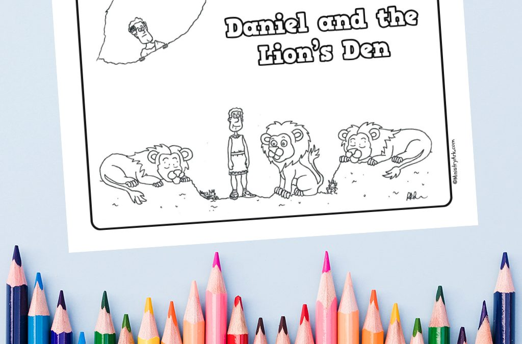 photograph about Printable Pictures of Lions called Daniel and the Lions Den Printable MinistryArk